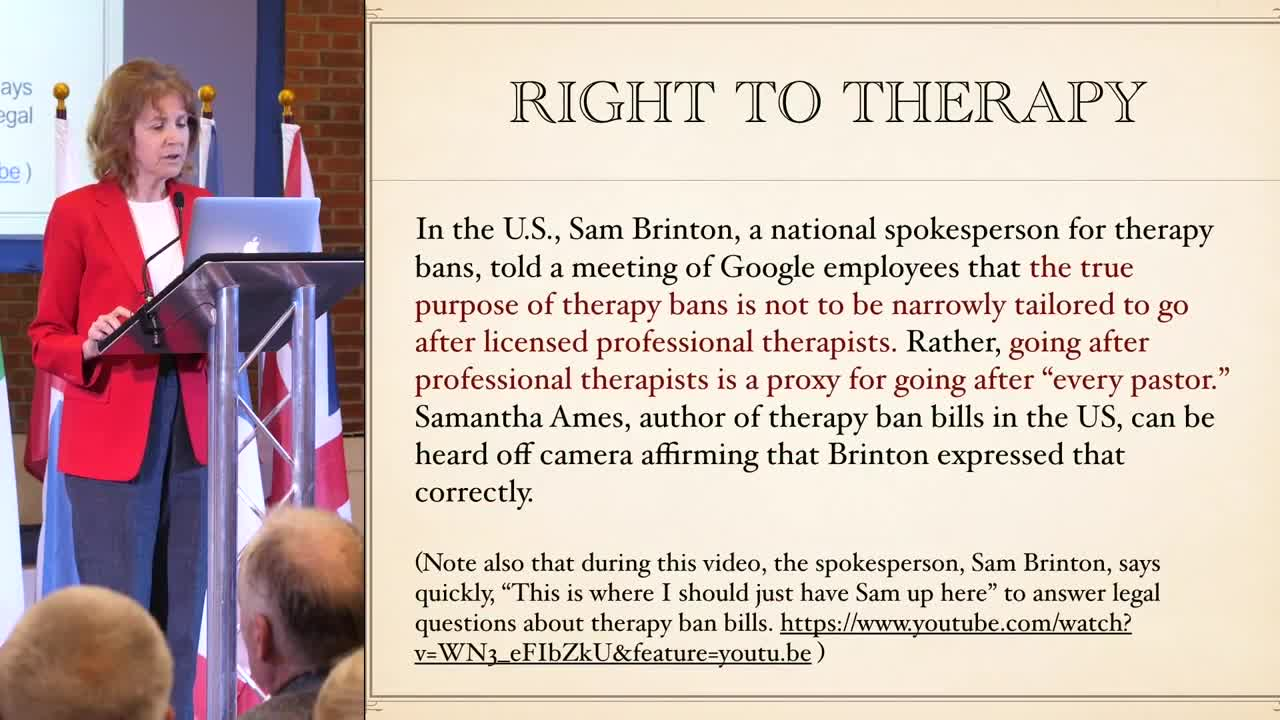 The Right to Therapy