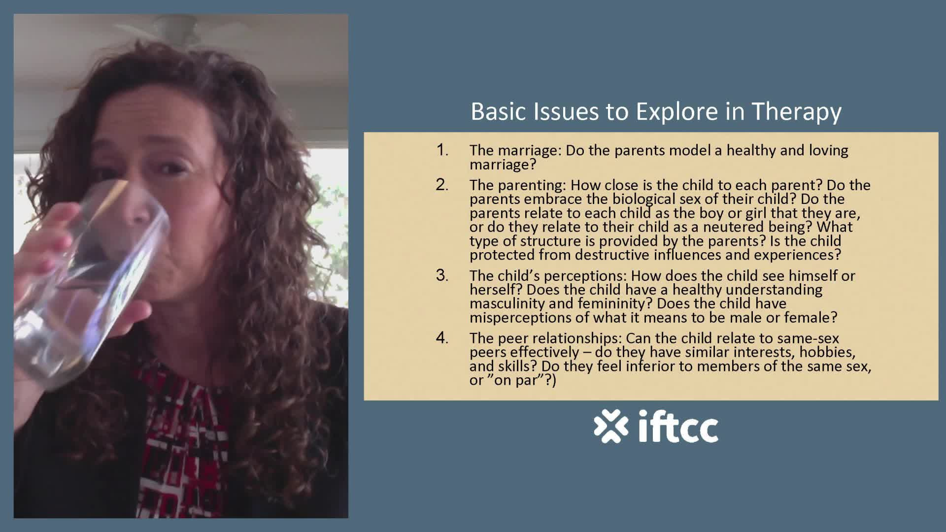 Gender Identity Confusion in Children and Family Therapy - Julie Hamilton